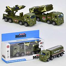 Военный транспорт 83022 (120) 2 вида, металопластик, в коробке