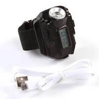 Часы ручные  со встроенным фонариком LKK-7007