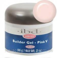 LED/UV Builder Gel Pink V, 56 мл. - конструирующий камуфлирующий розовый гель
