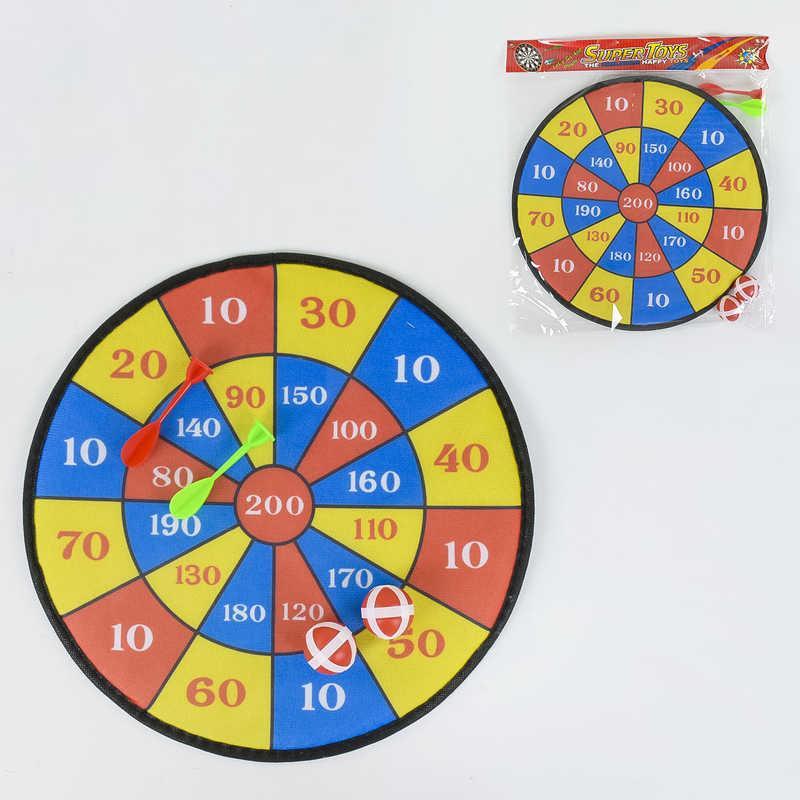 Дартс на липучках 366-3 (180/2) в кульке