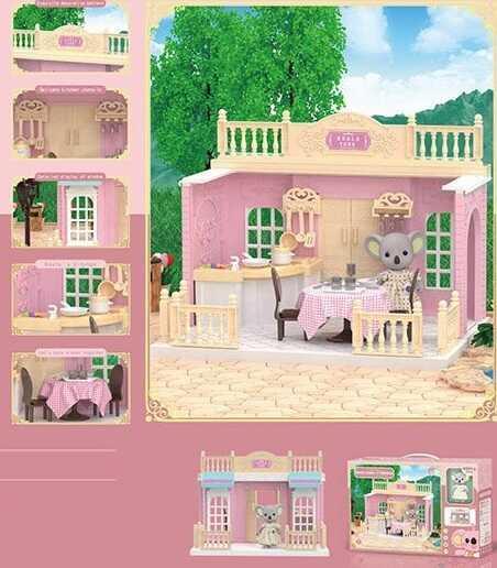"Домик Коалы FDE 8659 (36) ""Кухня"", 1 фигурка, с мебелью, в коробке"