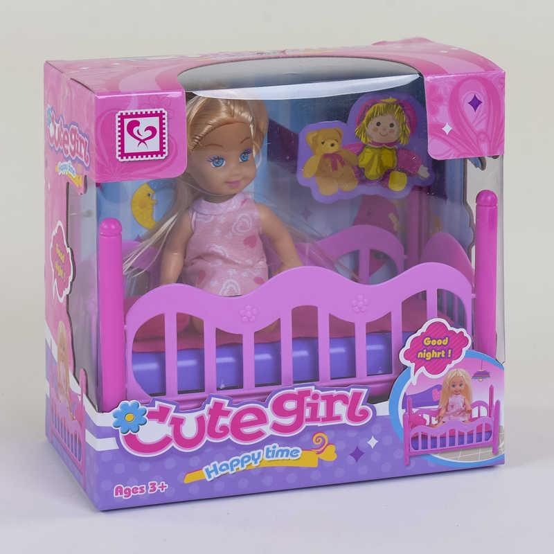 Кукла с кроваткой К 899-27 (96/2) в коробке