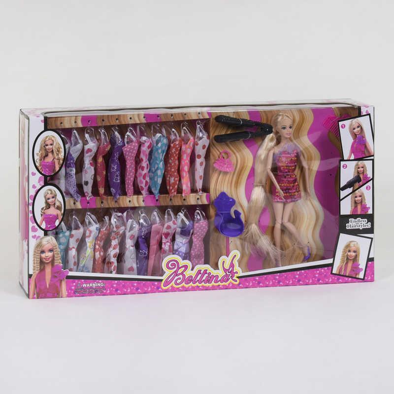 Кукла с нарядами 68150 (12/2) с аксессуарами, в коробке