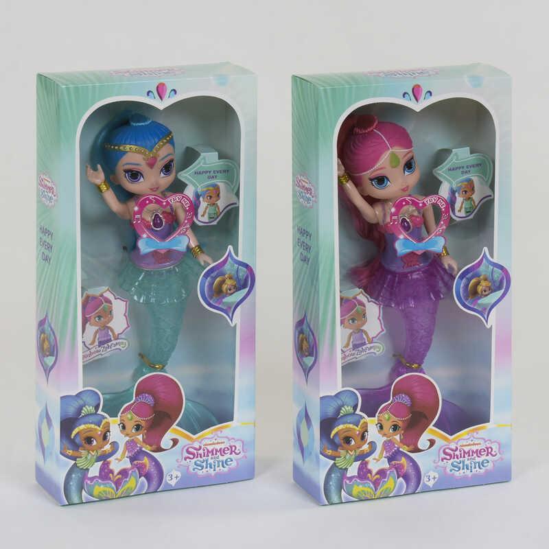 Кукла-русалка PL 048 (96/2) 2 вида, свет, звук, в коробке