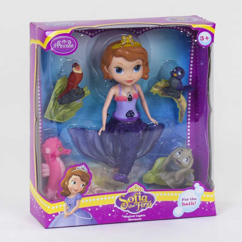 Кукла-русалка ZT 8669 (24/2) подсветка, в коробке