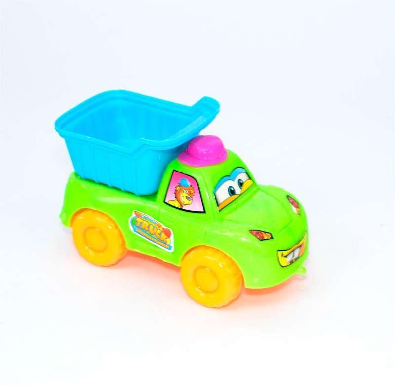 Машина Самосвал 2911 (240/2) 3 цвета, на веревочке, 1шт в кульке