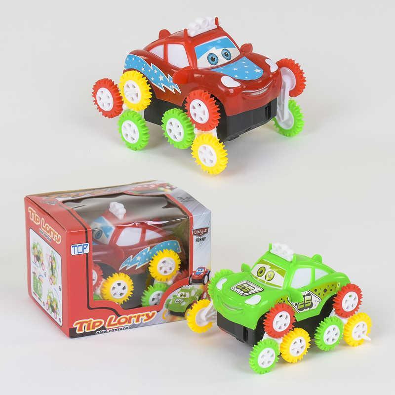 Машина-перевертыш 1121 А (240/2) 2 вида, на батарейке, в коробке