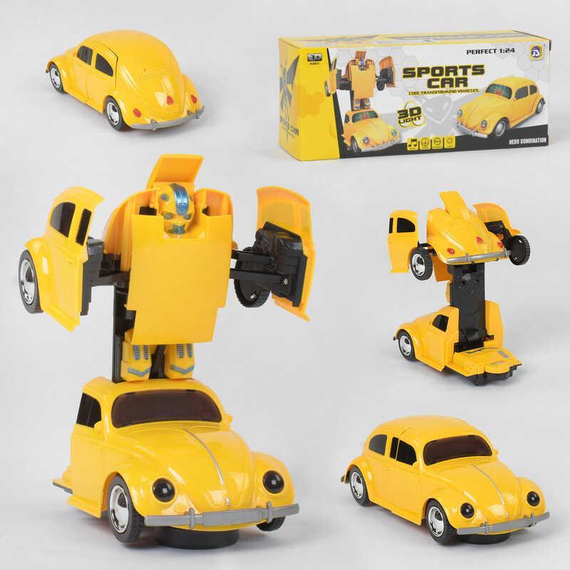 Машина-трансформер 9906 (72/2) свет, звук, в коробке
