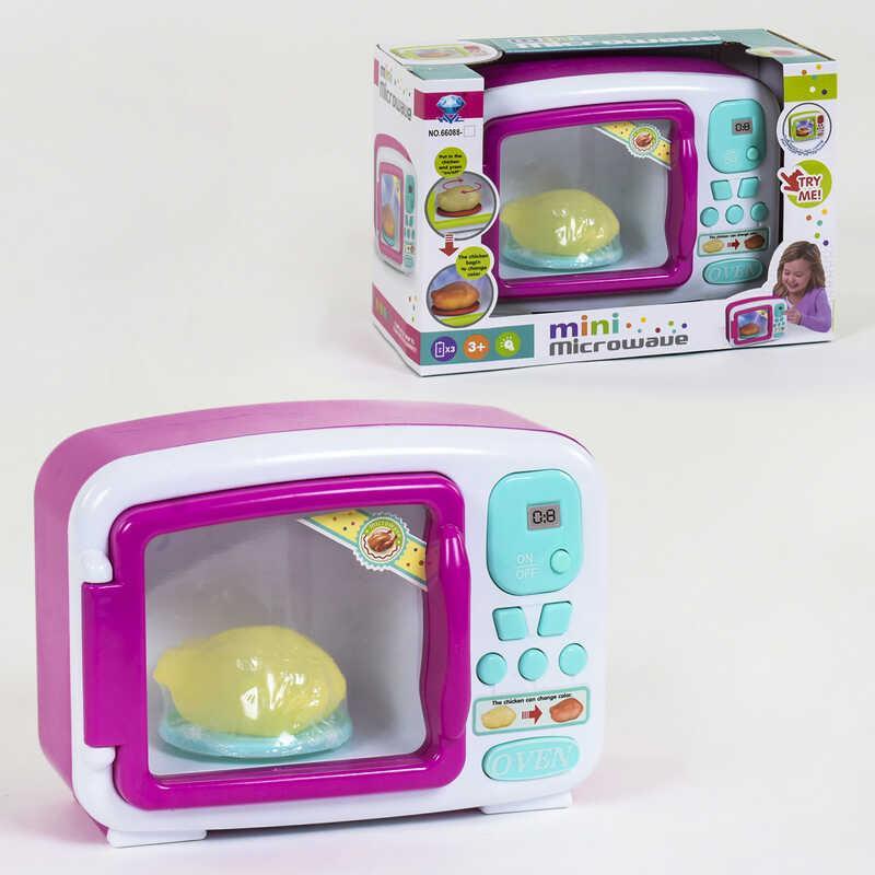 Микроволновка 66088 (36/2) подсветка, продукт меняет цвет, в коробке
