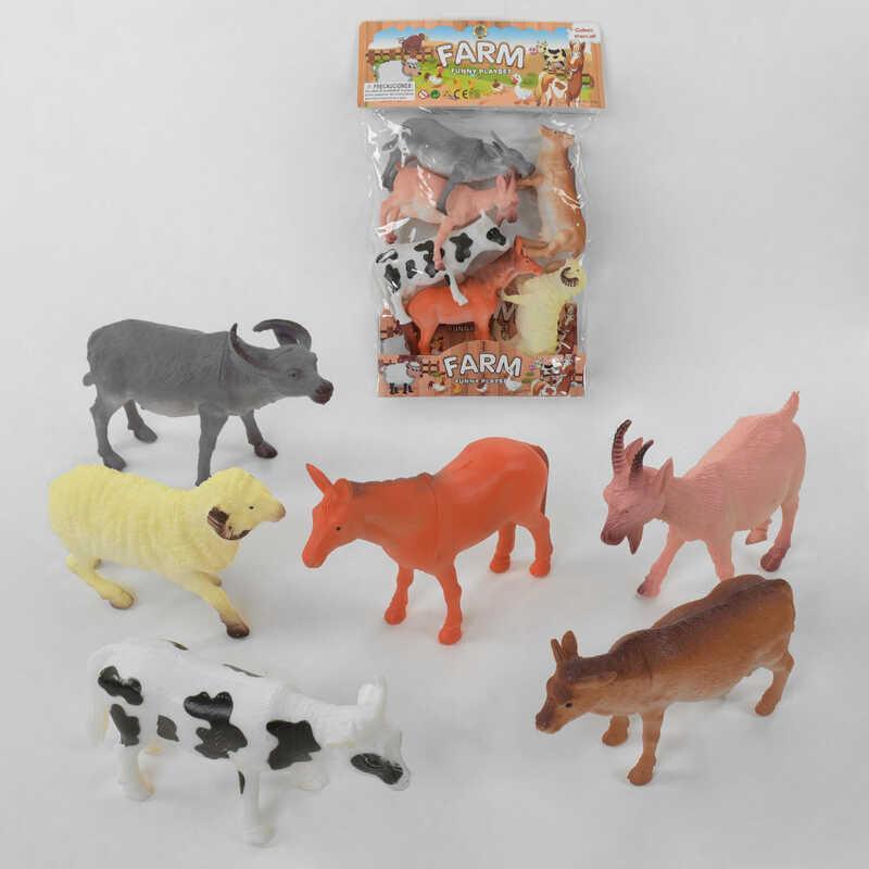 Набор домашних животных 370101 (36) в кульке
