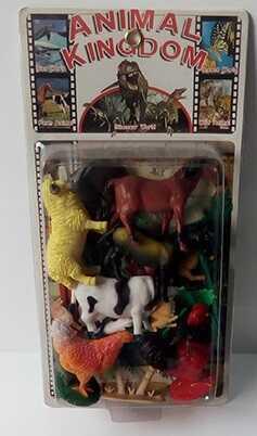Набор домашних животных NC 3789 В/ NC 3789 А (60/2) 2 вида, на листе