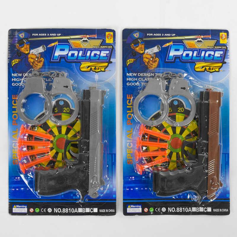 Набор полицейского 8810 В (192/2) 2 вида, на листе