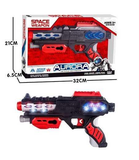 Пистолет КТ 8889 - F20 (48/2) свет, звук, в коробке