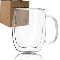 """Чашка с двойными стенками """"Барель"""" (350 мл.)"""