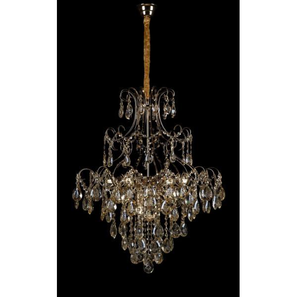 Светильники люстры хрустальные в классическом стиле потолочные Splendid-Ray 30-3816-49