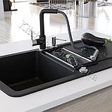 AquaSanita Modus 2383 одноважільний кухонний змішувач з висувним душем, фото 3