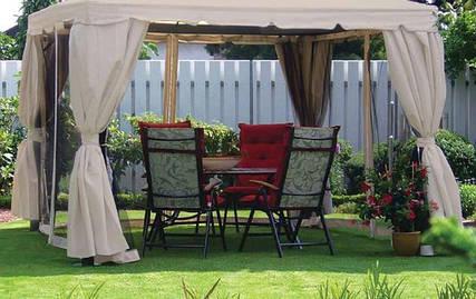 Садовые шатры и шезлонги