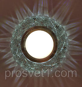 Софіт стельовий 2 джерела світла (LED SZ781 WT Ргосвет)