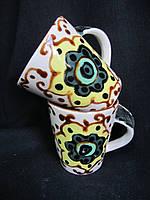 Чашка кофейная глининая, в-8 см  (25/20)