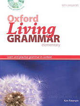Oxford Living Grammar Elementary with answers and CD-ROM / Английская грамматика с диском