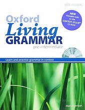 Oxford Living Grammar Pre-Intermediate with answers and CD-ROM / Английская грамматика с диском