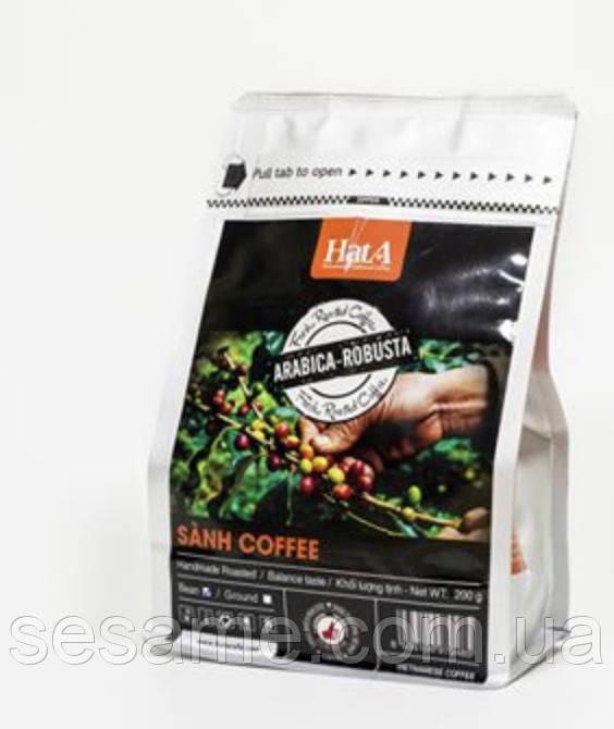 В'єтнамський натуральний Кава мелена Hata Sanh Coffee Arabica-Robusta 200g (В'єтнам)