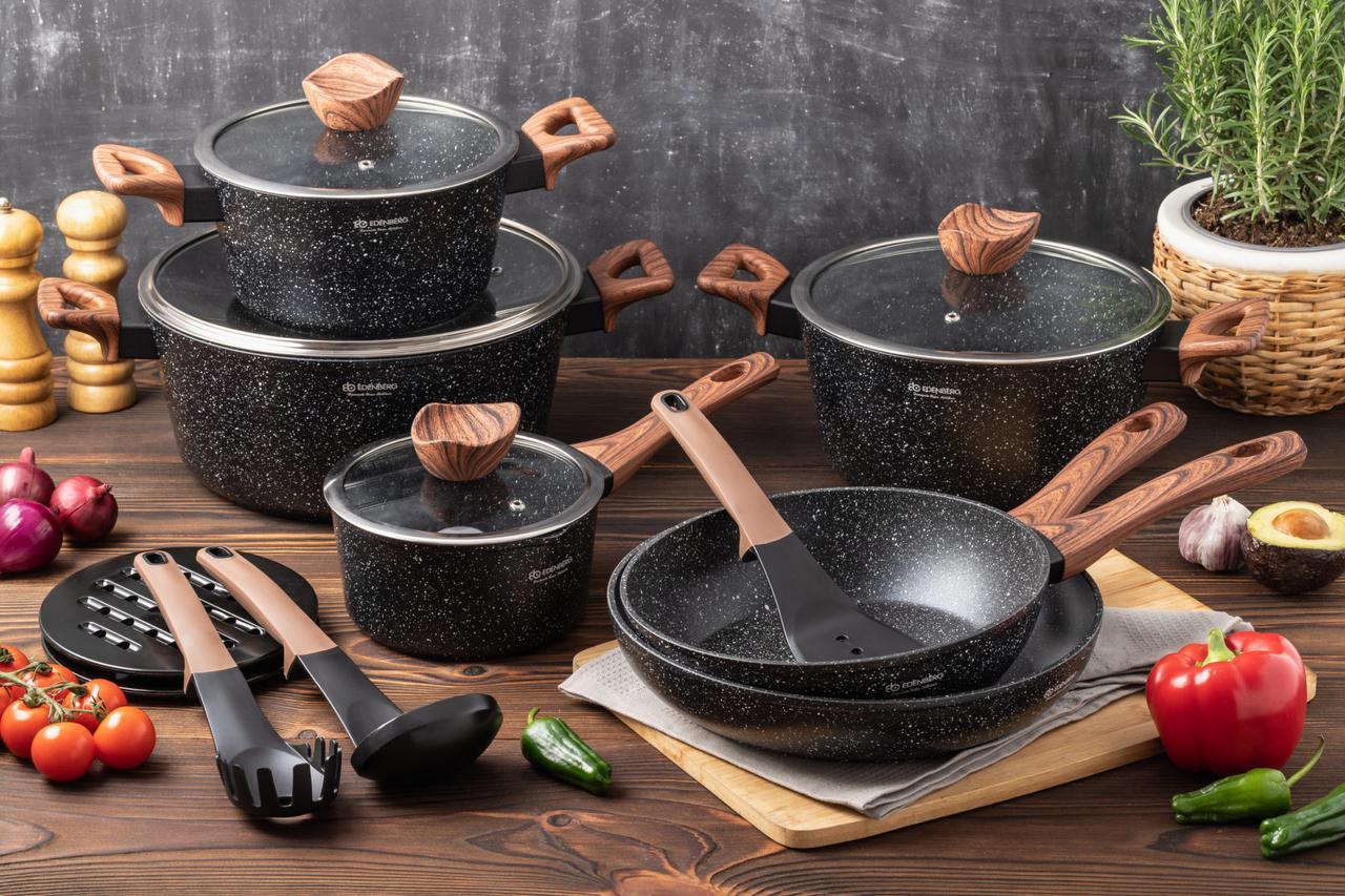 Набор посуды с антипригарным покрытием Edenberg