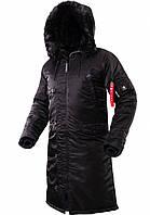 Зимняя мужская куртка аляска AIRBOSS Shuttle 171000143221 (черная), фото 1
