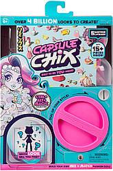 Набор - сюрприз с куклой Magic Moose Capsule Chix