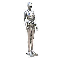 Манекен женский Аватар серебро