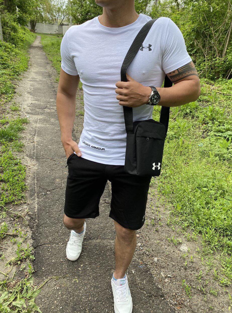 Мужской спортивный костюм (футболка и шорты) Rebuttal