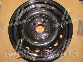 Диск колесный 15х6,0J 4x100 Et 50 DIA 60,1 RENAULT LOGAN, MCV черный (в упак.)  235.3101015-04