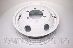 Диск колесный 16H2х5,5J ГАЗ 3302, IVECO белый (круглые отв.)  3302-3101015-06