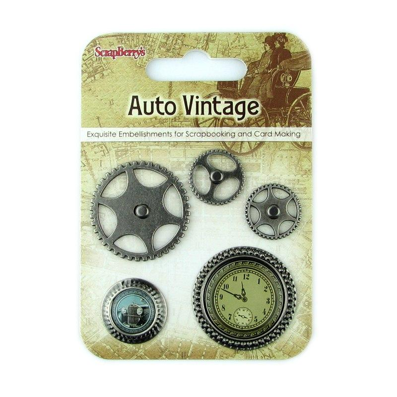 "Набор брадсов ""Auto Vintage"""