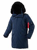 Зимова куртка аляска Airboss N-5B Tardis 175000803228 (темно-синя)