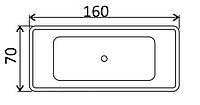 Ванни прямокутні Kaldewei 160х70