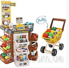 Дитячий супермаркет з візком 668-77 (17)