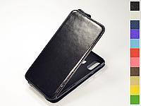 Откидной чехол из натуральной кожи для Samsung Galaxy A8s G8870 / Galaxy A9 Pro 2019 G887N