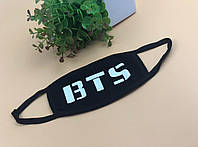 Маска на лицо Бафф K-Pop BTS надпись