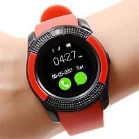 Сенсорные Smart Watch V8 смарт часы умные часы КРАСНЫЕ