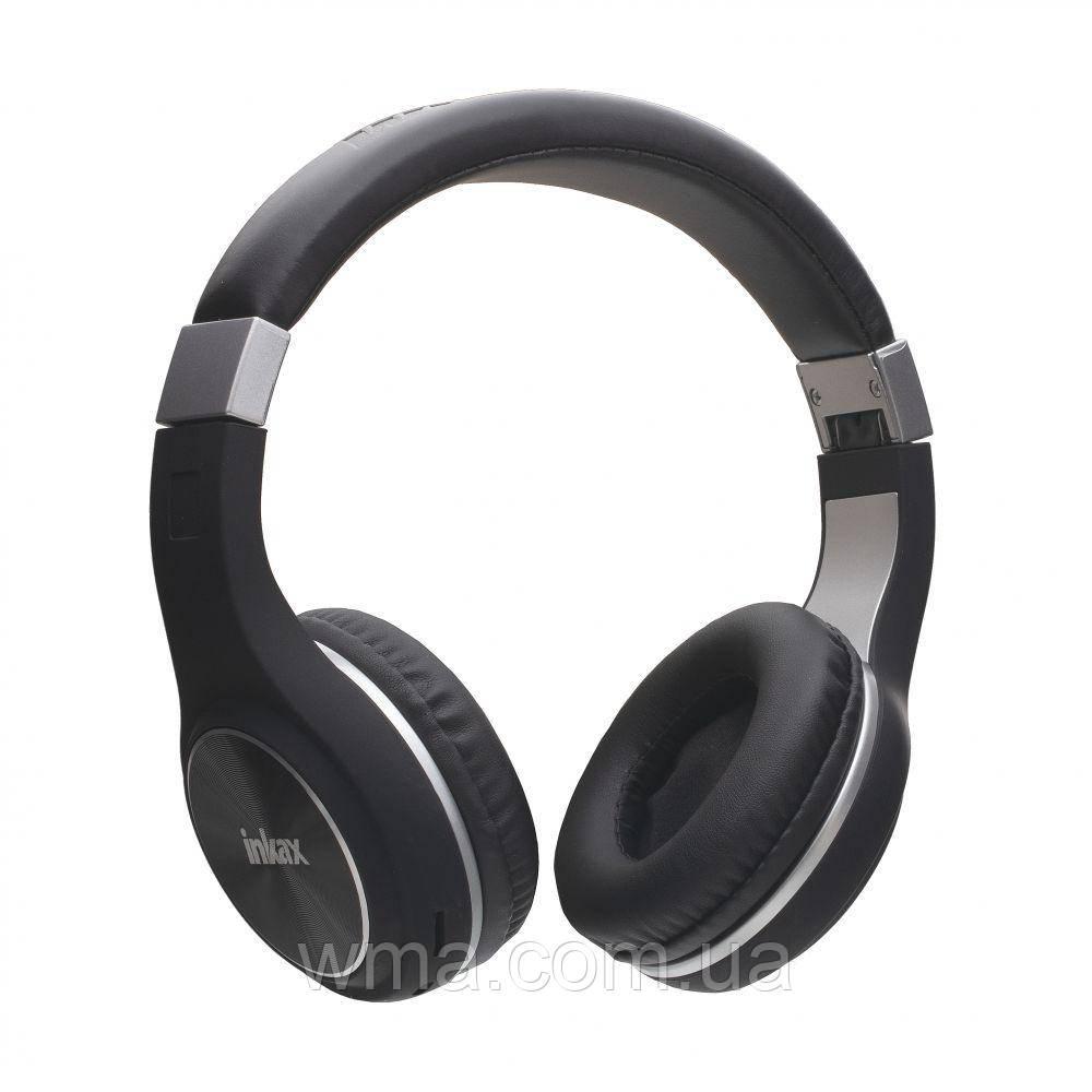 Наушники беспроводные (Bluetooth гарнитура) Inkax HP-34 Цвет Чёрный