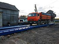 Весы автомобильные 14 м (40) 60 т для полуприцепов, еврофур ВА14-60