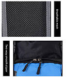 Рюкзак туристический S1907 90 л, голубой, фото 6