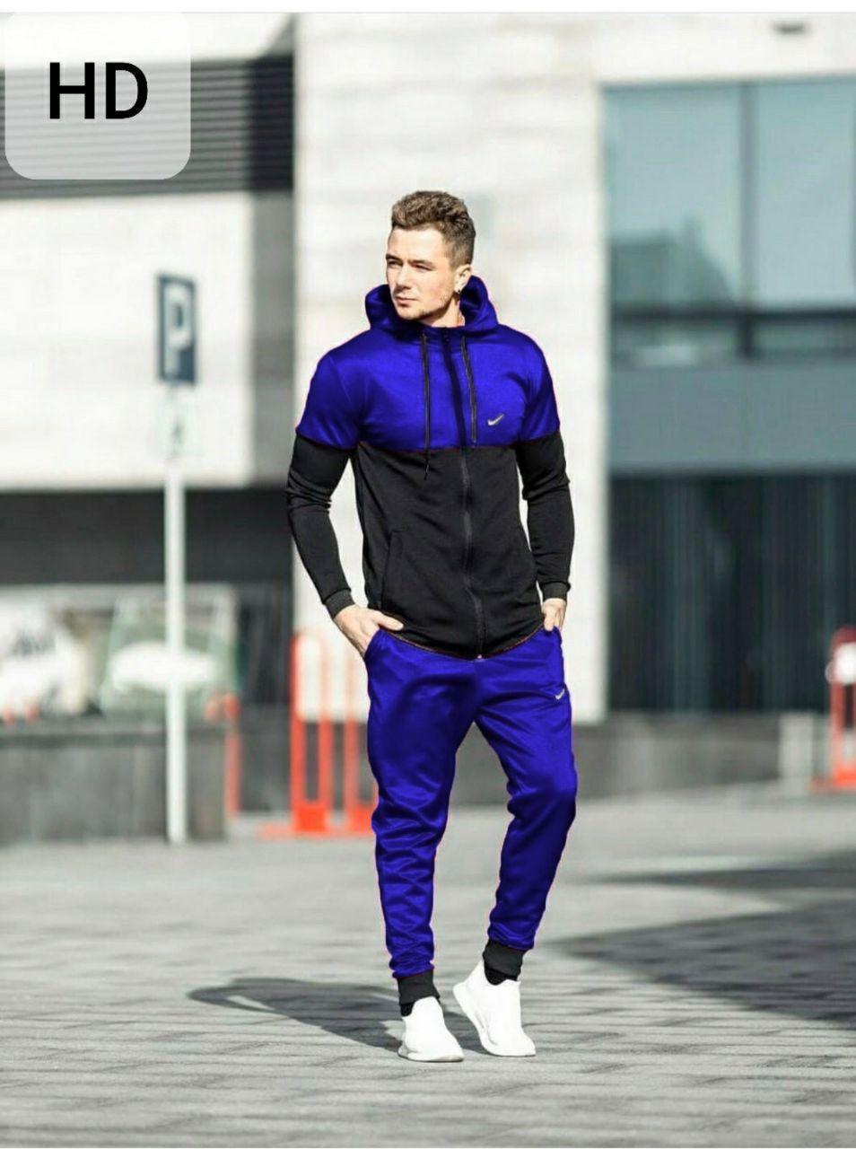 Спортивный костюм NIKe  black-blue