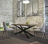 Стол для кафе в стиле лофт Икс