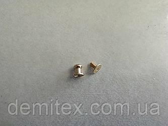 Кобурной гвинт золото 6мм головка