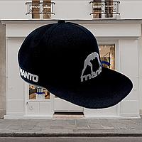 Мужская стильная Бейсболка кепка MANTO черного цвета Германия