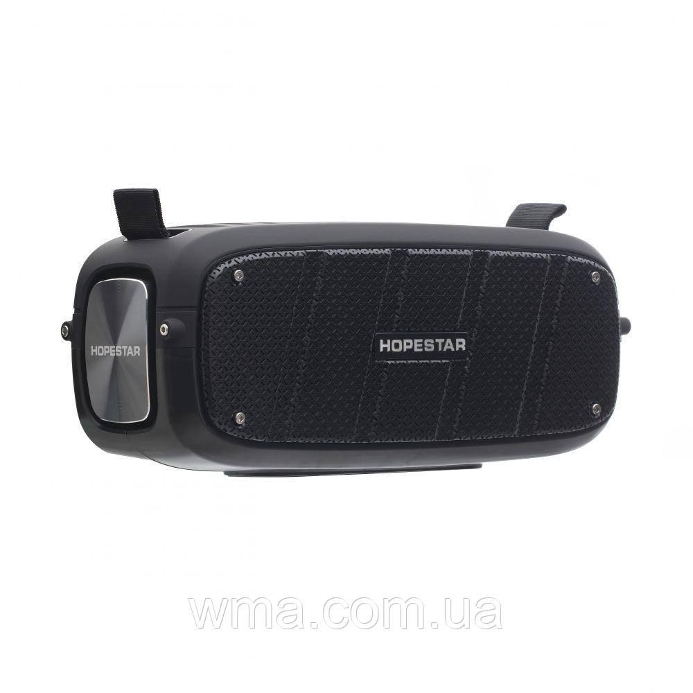 Bluetooth колонка (Беспроводная портативная блютуз) Hopestar A20 Цвет Чёрный
