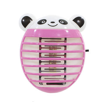 Уничтожитель насекомых Lesko Bear Pink электрическая ловушка-отпугиватель от комаров