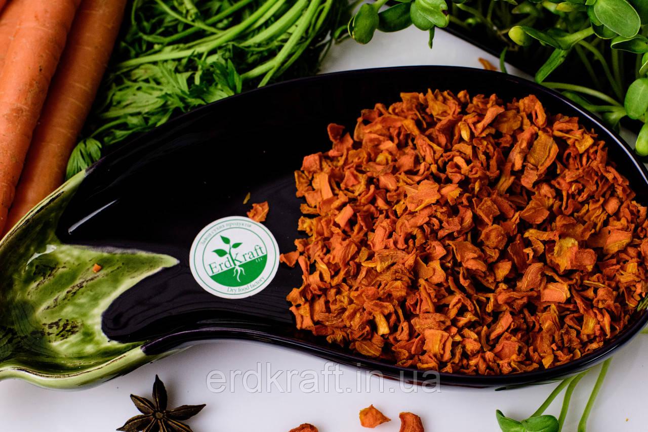 Сушеная морковь сушеная, 5*5, Класс В